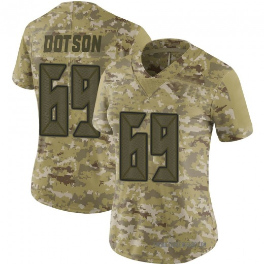 Demar Dotson Women's Tampa Bay Buccaneers Nike 2018 Salute to Service Jersey - Limited Camo
