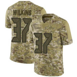 Mazzi Wilkins Men's Tampa Bay Buccaneers Nike 2018 Salute to Service Jersey - Limited Camo